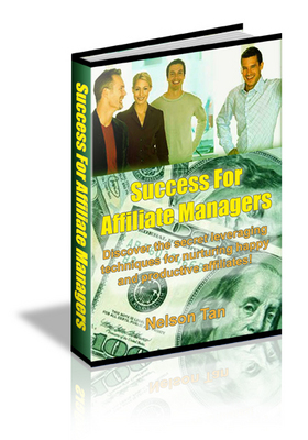 Product picture Success For Affiliate Managers